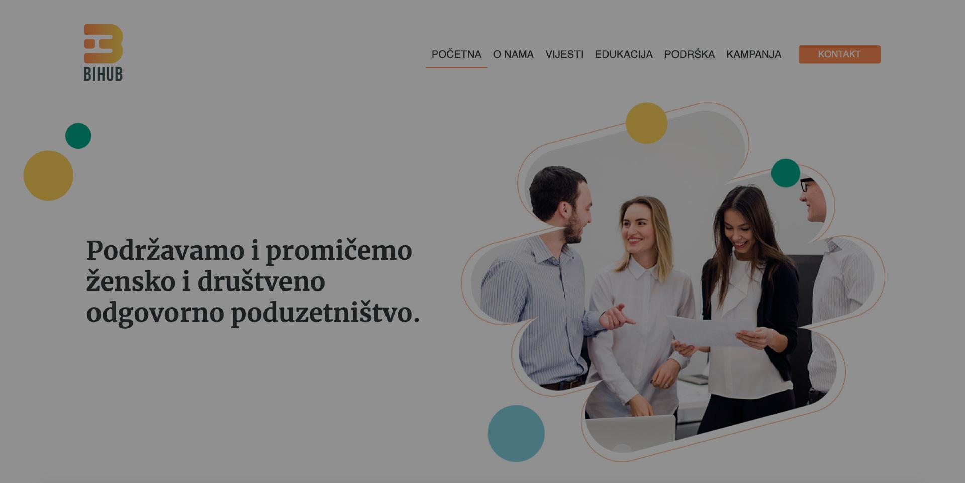 SA ZADOVOLJSTVOM PREDSTAVLJAMO NAŠU WEB STRANICU